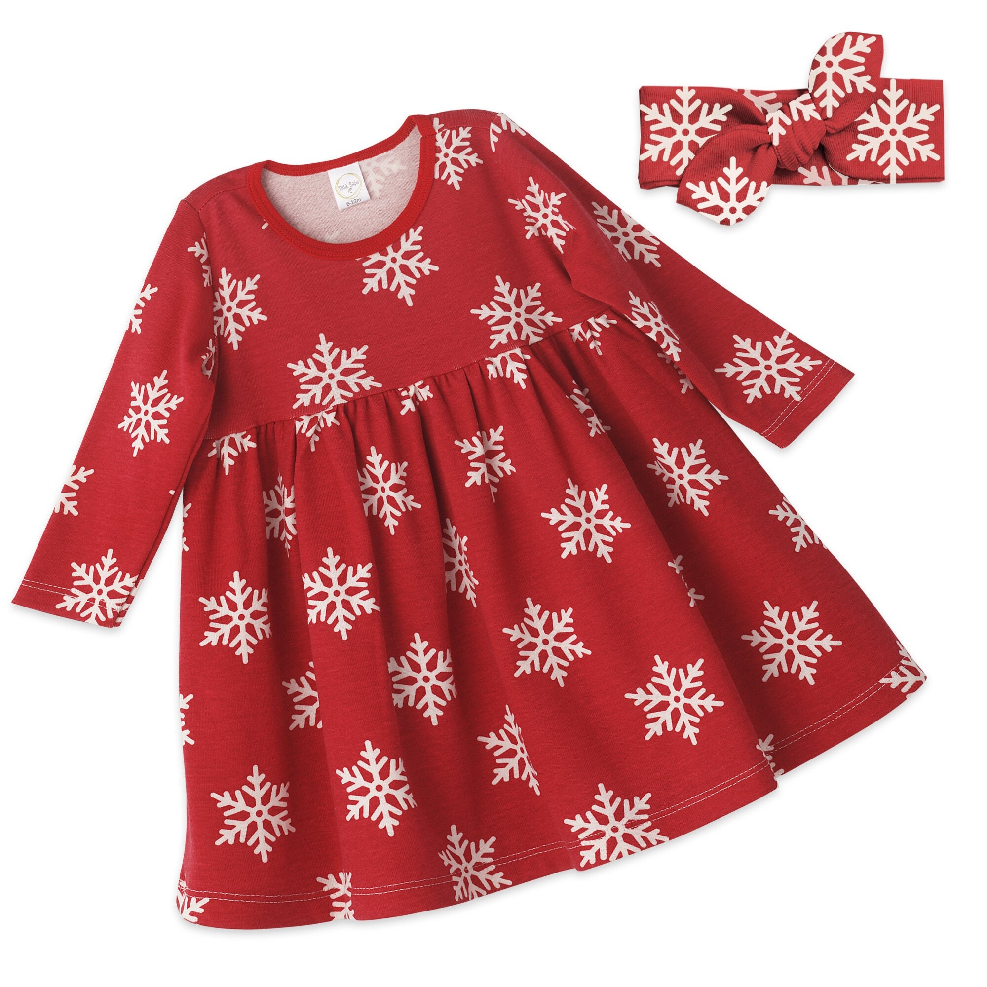 Baby Girl Christmas Dress Baby Girl Christmas Red Holiday Outfit