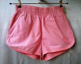 Vintage 90s Shorts Adidas Pink Shorts trefoil S