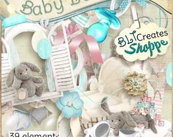 Baby Love Digital Scrapbooking Kit