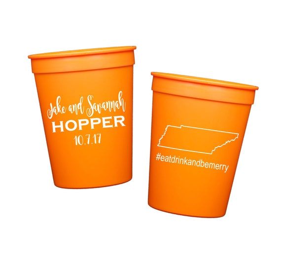 State pride reception cups