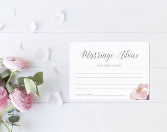 Marriage Advice Cards. Marriage Advice Game. Unique Guest Book. Wedding Guest Book Alternatives. Advice Cards for Bride and Groom.