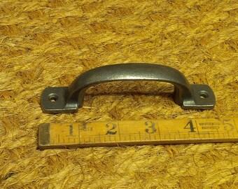 Square 'D' Handle - Cast Iron