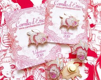 Valentine Ltd Edition Bee Pins