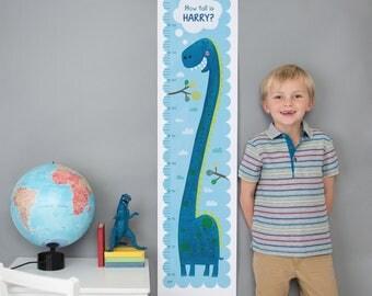 Personalised Dinosaur Height Chart