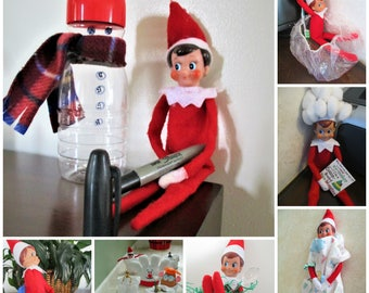 30+ ELF On The SHELF kits - individual scenes
