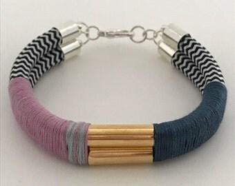 Secret Embrace (Small) Bracelet Mauve