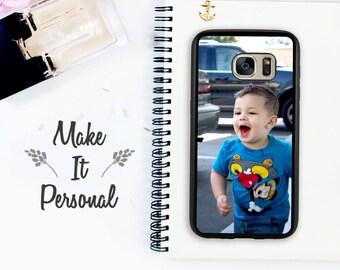 Custom Galaxy S8 Case Galaxy S8 Plus Case Personalized Phone Case Samsung S8 Custom Case Personalized Gift Idea Photo Case Galaxy S7 Edge