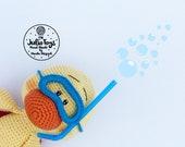 Duck diver - crochet pattern
