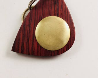 Handmade Cocobolo with Brass Disk
