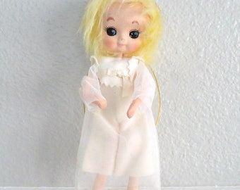 Vintage Angel Ornament, Tree Topper or Christmas Decoration