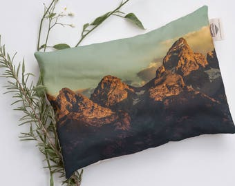 Grand Teton 1096 Relaxation Pillow, Heat Therapy, Heat Pack, Microwavable Heat Pad, Body Comfort Heat Packs, Heating Pad, National Parks
