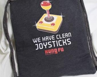 Clean Joysticks Drawstring Bag
