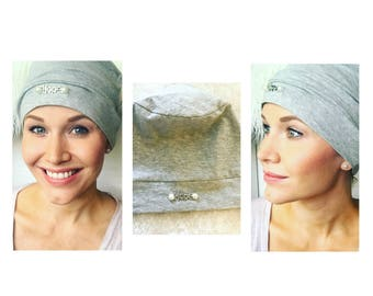 A Pearl of Hope Chemo Hat