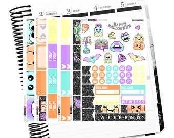 Broomstick full kit, Planner Stickers