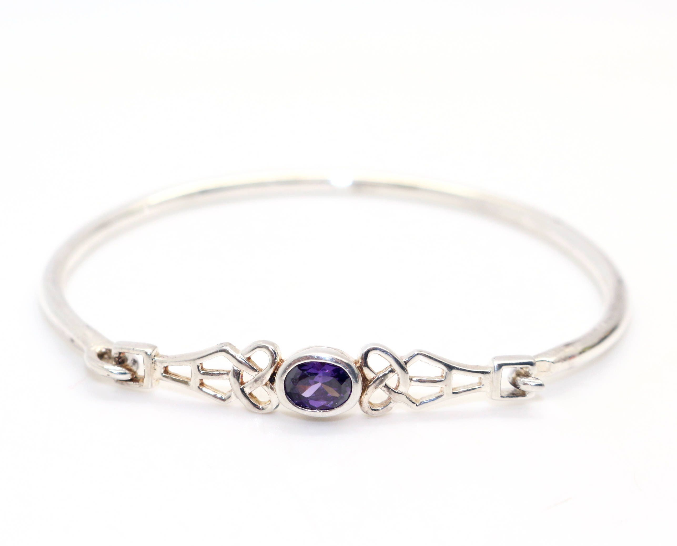 silver collections garnet franki sterling bangle smoky women bangles bracelet quartz peridot s baker jewellery amethyst bracelets