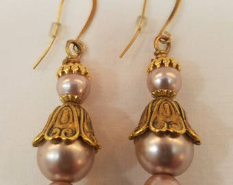 Champagne Earrings  EE-151
