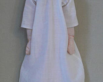Patience, a painted cloth doll