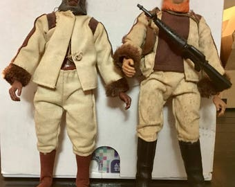 2 Mego Planet of the Of the Apes action figures