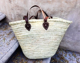 La Plage Woven Straw Beach Bag 003