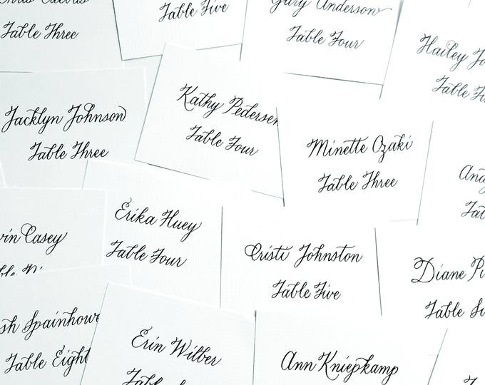 place cards design