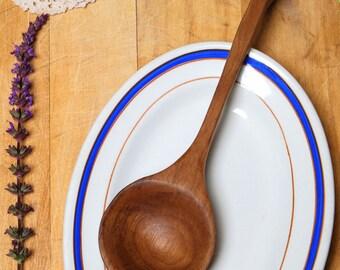 Walnut wooden spoon