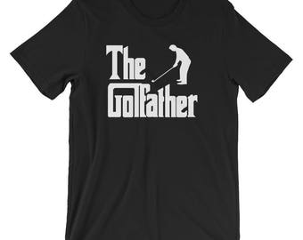 The Golfather T-Shirt - Golfing Father's day - Golf Dad - The Godfather Parody