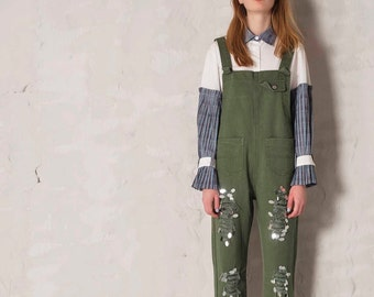 Just Jumpsuit Bottoms Casual Jumpsuit Oversize Denim Jumpsuit For Woman