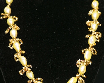 Golden pearls