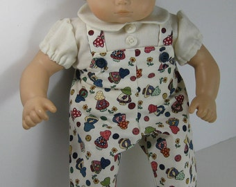 Bitty Baby / Bitty Twin Holly Hobbie Overalls and Shirt