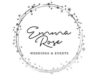 Pre-made Logo Design | 'Emma' | Gold Foil Logo | Photography Logo | Blog Header | Business Branding | Branding Design | Custom logo