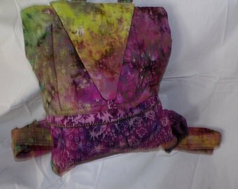 batik backpack