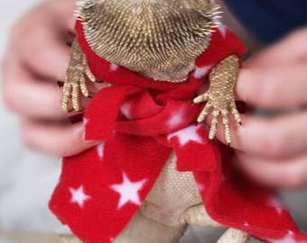 COLOUR CHOICE Bathrobe for Bearded Dragons! Outfit costume reptile Bearded Dragon Harness