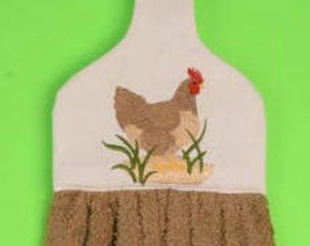 Chicken hanging towel