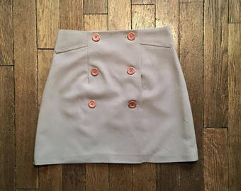 Skirt worn leaf vintage