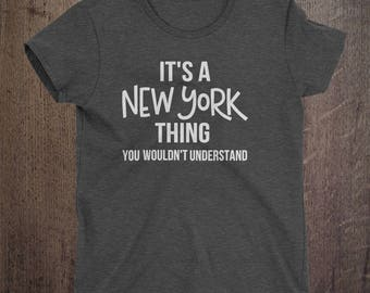 CUSTOM, It's a New York Thing, Pick your city, Pick your state, City shirt, State shirt, Custom,  USA, Custom shirt