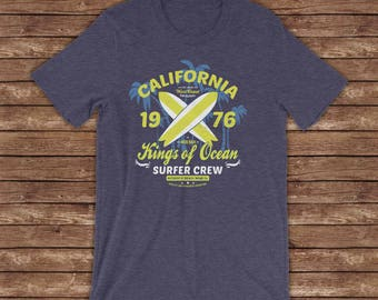 California Kings Of Ocean / California / West Coast / Men / Surfer Crew / Beach Please  / Jamgochi Boutique