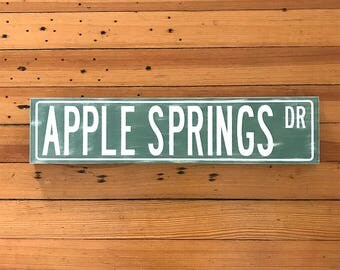 Street Sign Custom, Street Sign Decor, Street Sign, Personalized Street Sign, Wood Road Sign, Distressed Signs, Street Sign Art, Wooden Sign