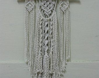 Handmade Bohemian Macrame Knot Cotton Wall Hanging