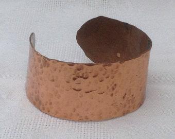 Hammered Copper Bangle