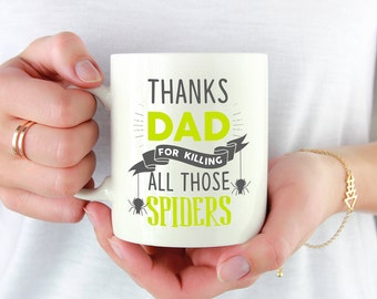Thanks Dad Mug, Mug For Dad, Gift For Dad, From Daughter To Dad, Fathers Day Mug, Fathers Day Gift, Gift Ideas For Dad, Gifts For Dad