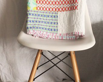 quilt | lap throw | color me retro