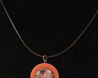 Morel Pendant Necklace