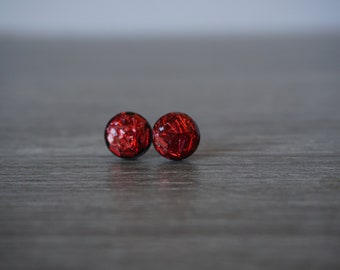 Heart Attack Polymer Clay Earrings