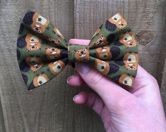 Beaver Bash Bow tie, Dog OR cat Bow tie