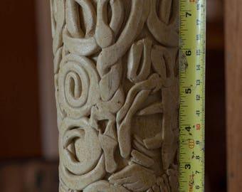 Gorgeous stoneware vase