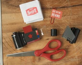 Add-Your-Own-Roll-of-Film || DIY 35mm Film Pinhole Camera  || Handmade Miniature Pinhole Camera