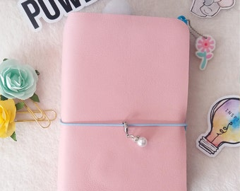 Travel/travelers notebook leather notebook