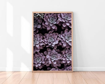Pink Purple Floral Wall Art, Floral Printable, Plants Poster, Botanical Art Print, Printable Wall Art, Floral Art Print, Best Selling Items