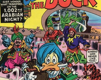 Howard The Duck #1 Annual 1977 NM Marvel comic book