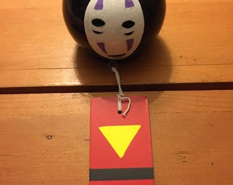 Spirited Away (No Face) Wind Chime
